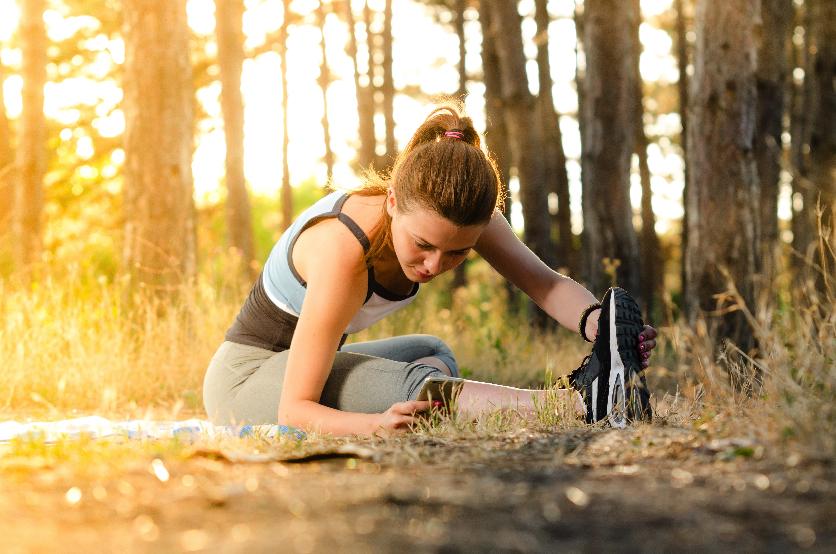Gesundheits-Challenge Fitness Abwehrkräfte stärken Bewegung Sport