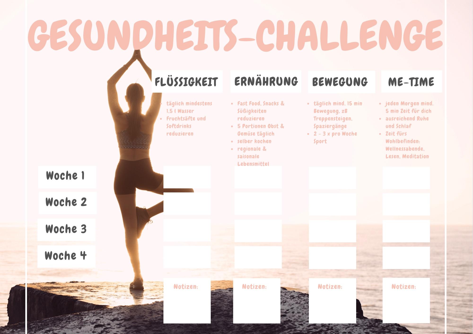 Gesundheits-Challenge