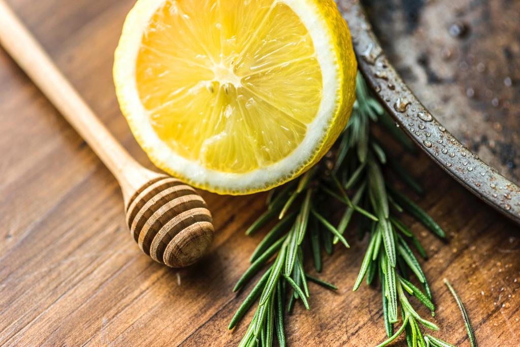 Vitamine Entschlacken Fitness Ernährung Zitronentee